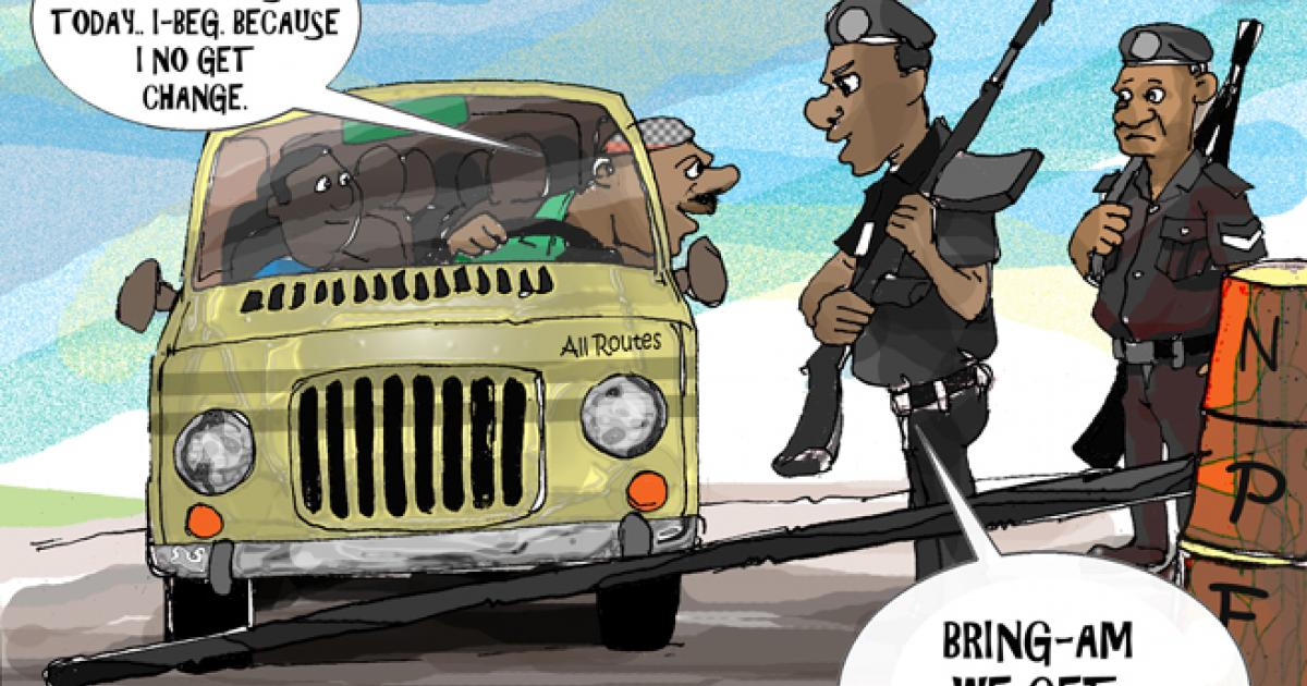 Suggestions for revamping the system of checkpoints inNigeria
